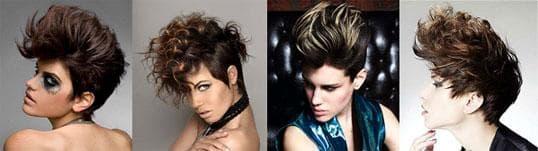 прически в стиле 80-х фото средние волосы