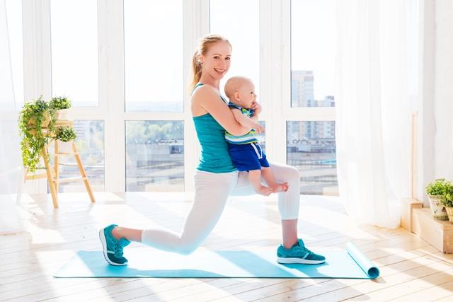 Упражнения для коррекции веса после родов