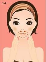 Упражнение для укрепления области рта и подбородка
