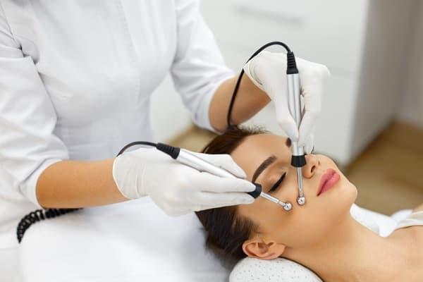 Процедуры для кожи лица_электротоки